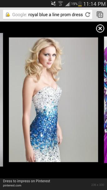 dress prom dress crystal elegant