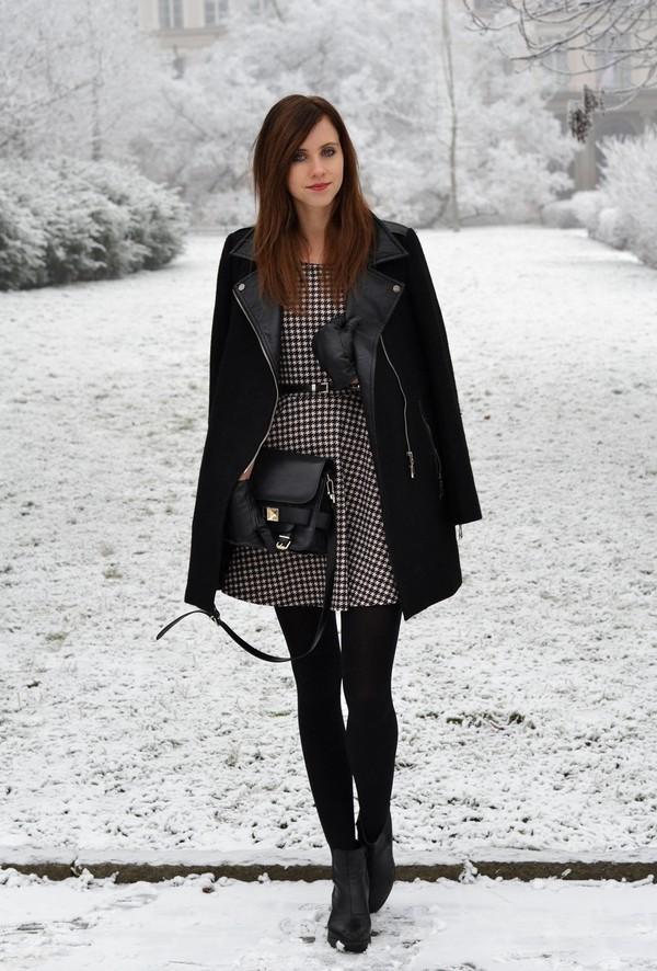 vogue haus dress coat bag shoes