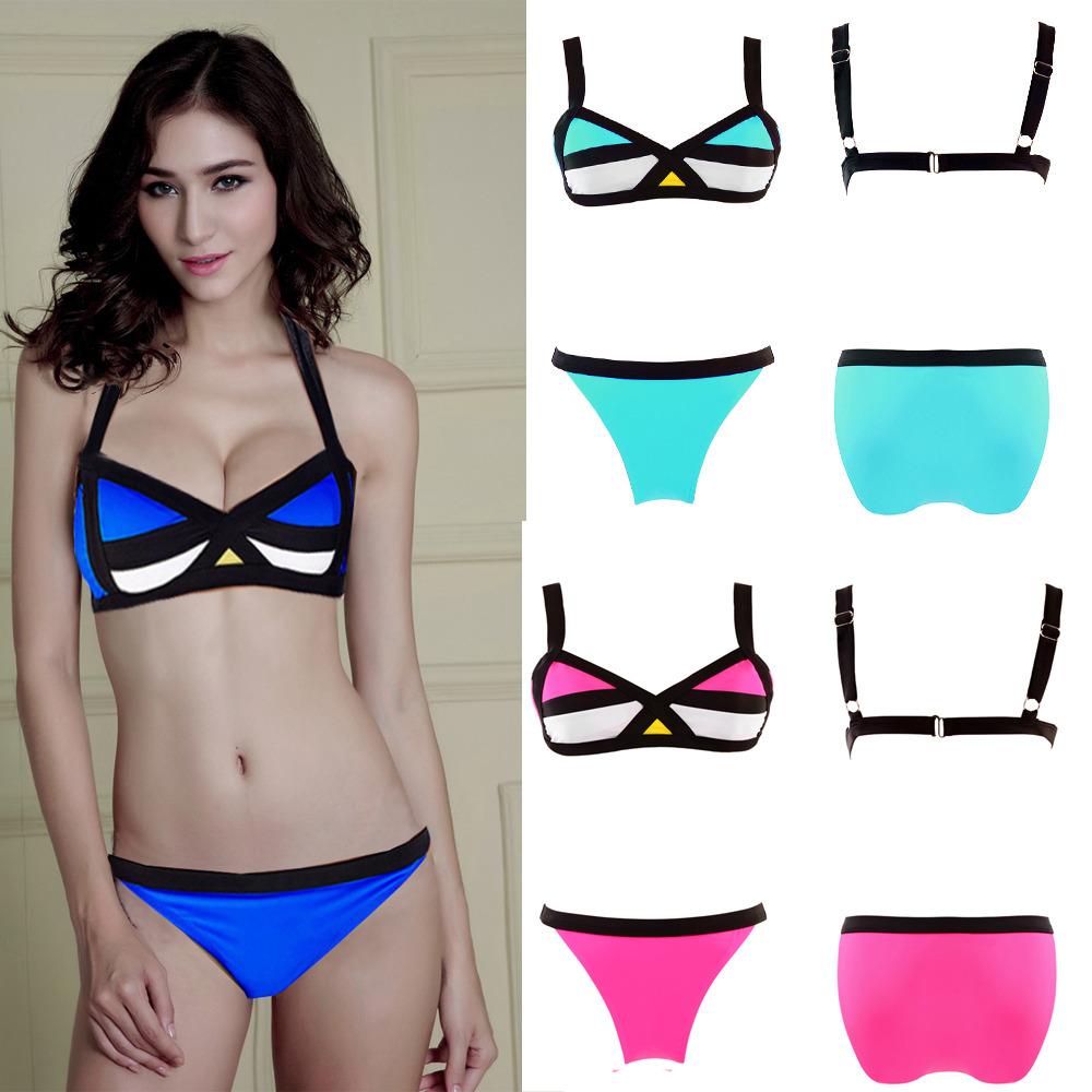 Women'S Bandage Bikini SET Push UP Padded BRA Swimsuit Bathing Suit Swimwear Q6 | eBay