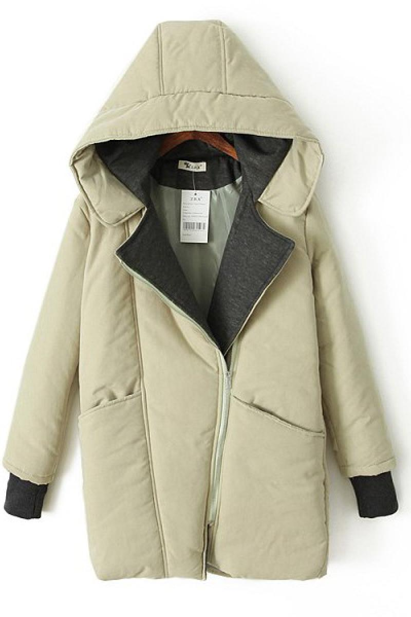 Autumn & Winter New Section Ladies Thickened Long Section Cotton-padded Clothes ,Cheap in Wendybox.com