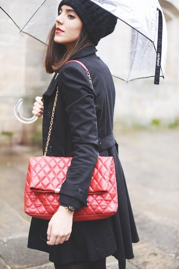 the fashion through my eyes dress coat shoes bag