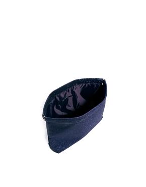 Cheap Monday | Cheap Monday Glitter Squeeze Clutch Bag at ASOS