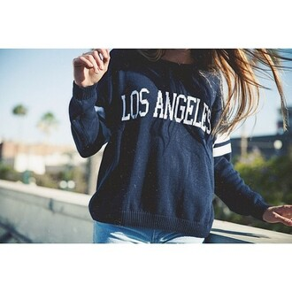 sweater blue white blond hand black short miami los angeles short usa miami beach