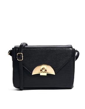 ASOS | ASOS Boxy Lock Bag at ASOS