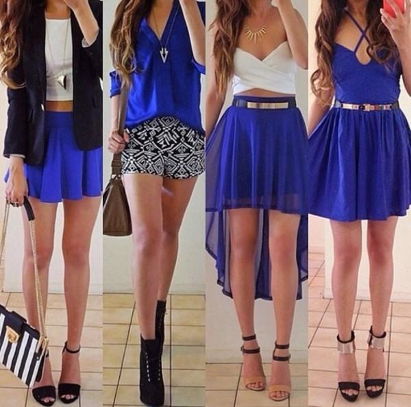 shorts white blue skirt white crop tops blouse dress underwear cardigan jacket shoes skirt