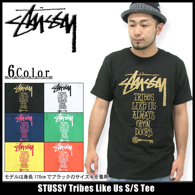 icefield | Rakuten Global Market: Stussy STUSSY Tribes Like Us T shirt short sleeve (stussy tee tee shirts T-SHIRTS tops mens, men's 1903051 Steacy) ice filed icefield