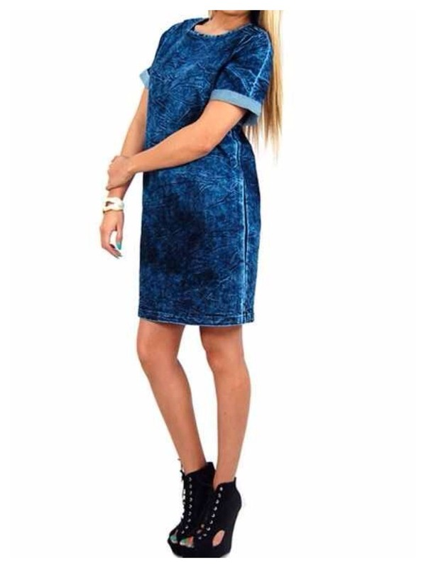 dress denim boyish