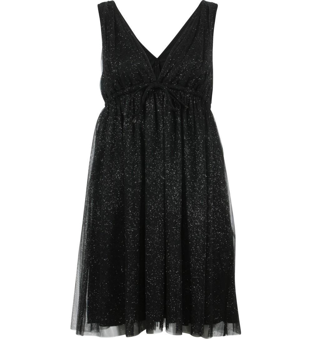 robe tulle pailleté noire - robes Jennyfer