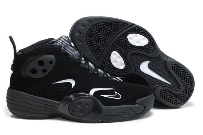 nike flight one nrg all black basketball shoes mens