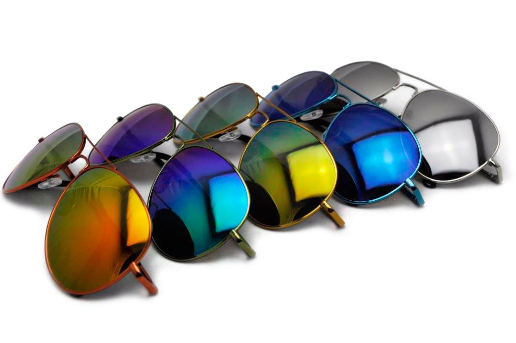 Sense42 verspiegelte Pilotenbrille Fliegerbrille Sonnenbrille Aviator Brille | eBay