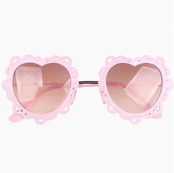sunglasses kawaii heartshape pink pastel pink