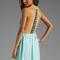 Woodleigh veve maxi dress in seafoam   revolve