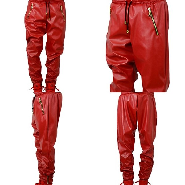 pants leather pants