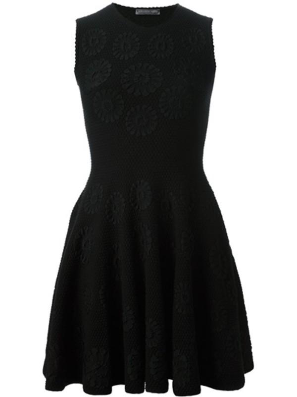 dress alexander mcqueen black dress