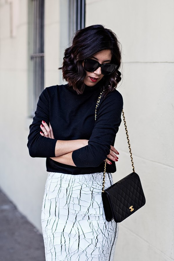 this time tomorrow sweater skirt bag shoes sunglasses
