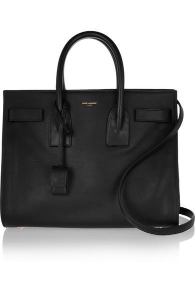 Saint Laurent|Sac De Jour small leather tote|NET-A-PORTER.COM