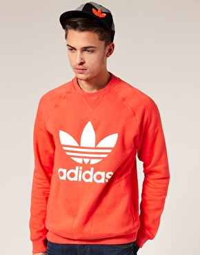 Adidas Originals Crew Neck Logo Sweatshirt ($50-100) - Svpply