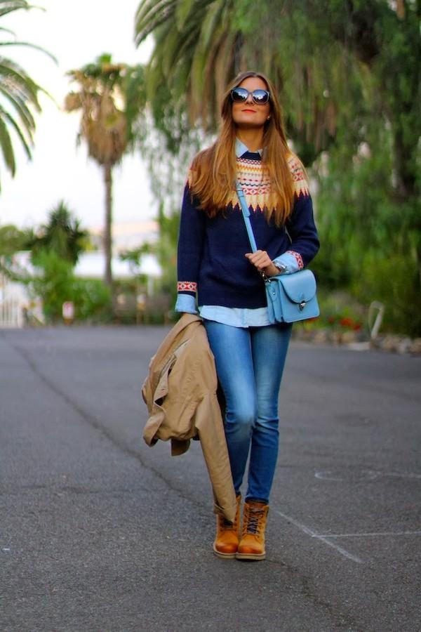 marilyn's closet blog sweater sunglasses jeans shoes bag