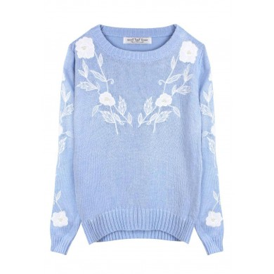 Pearly Rose Adorable Sweater