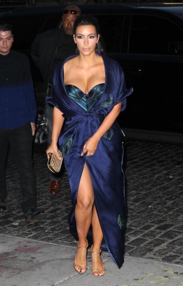 bag kim kardashian dress