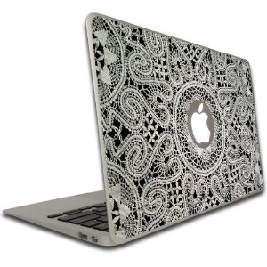Amazon.com: Macbook Air or Macbook Pro (13 inch) Vinyl, Removable Skin - Lace: Electronics