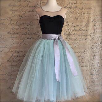 mint green skirt tulle skirt tutu tulle tutu dress carrie bradshaw princess dress