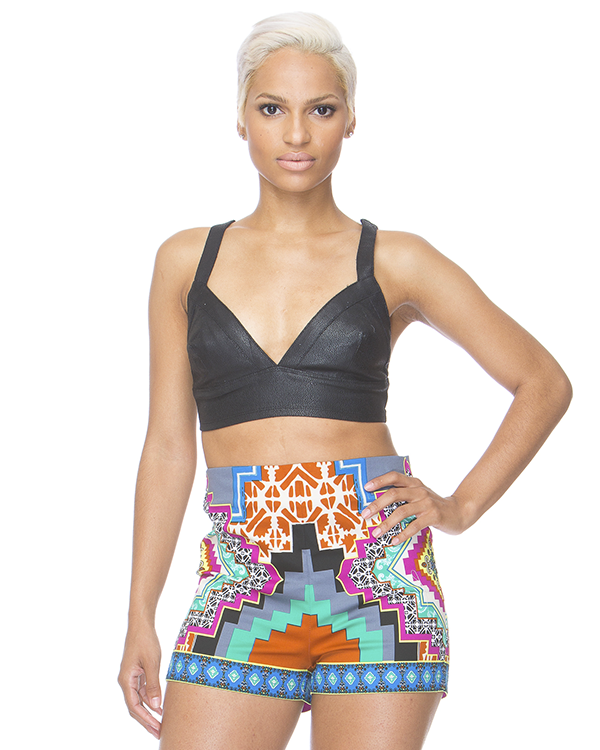 PRINT ENVY High Waist Shorts – FLYJANE