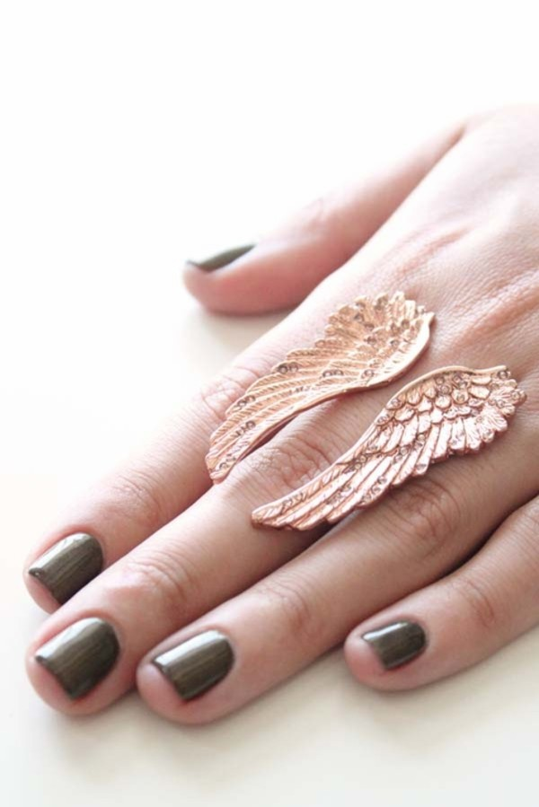 jewels ring ring jewelry swag swag angel wings wings ring accessories hand jewelry