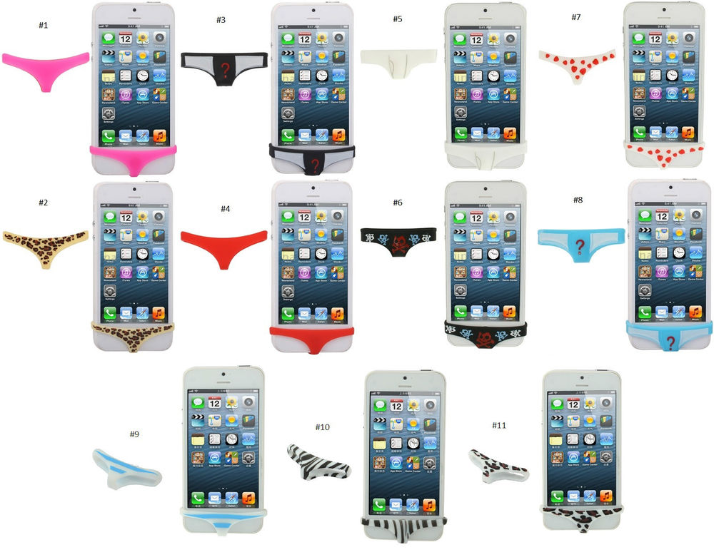New iPhone Home Button Underwear Thong Case Cover Protector 4 4S 5 | eBay