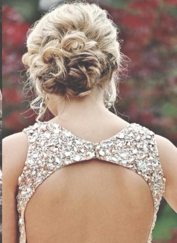 dress prom dress long prom dress backless prom dress sparkly dress backless dress sequins gold sequins