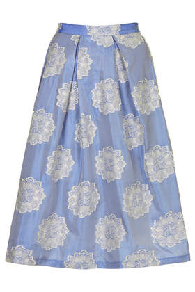 Antique Jacquard Midi Skirt - Skirts - Clothing - Topshop USA