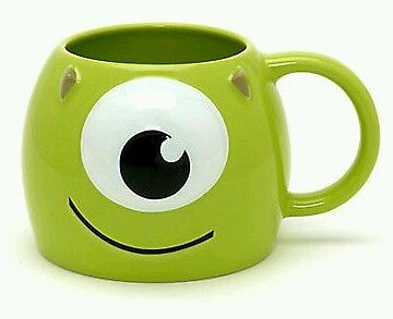 New Disney 3D Sculpted Mike Mug Monsters University Monsters Inc Pixar | eBay