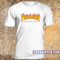 Thrasher flame logo t-shirt - teenamycs