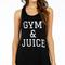Gym & juice tank top