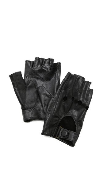 Carolina Amato Байкерские перчатки без пальцев | SHOPBOP
