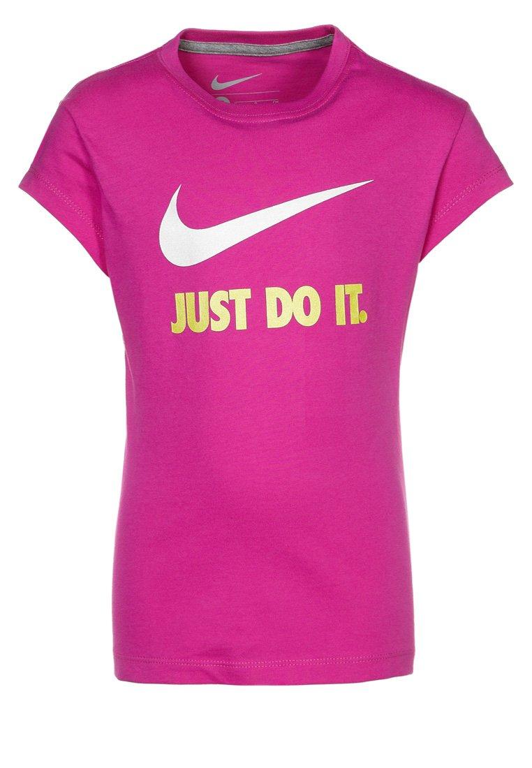 Nike Performance JUST DO IT - Print T-shirt - pink - Zalando.co.uk