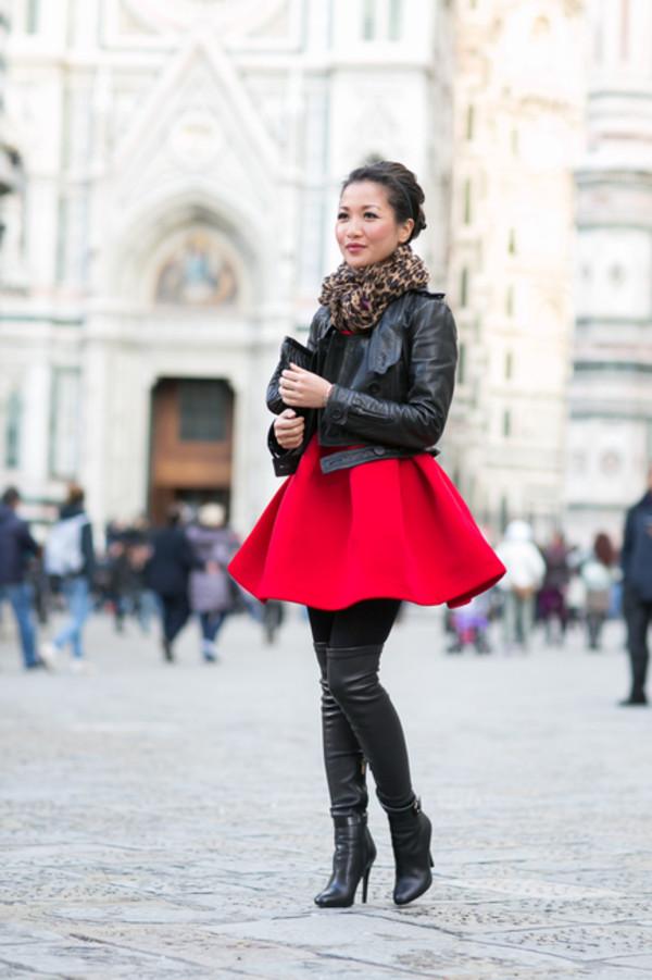 wendy's lookbook jacket dress shoes bag scarf