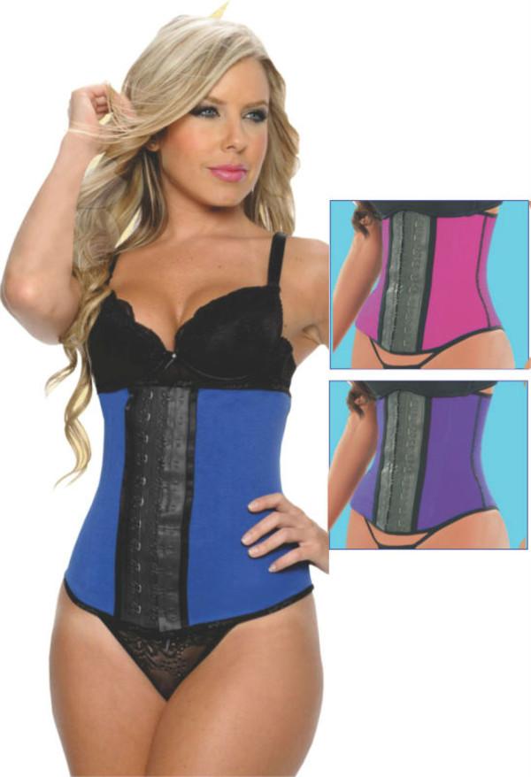underwear pink bag chanel inspired trainers ann cherry classic sportswear blue waist corset' waist trainer wasit royal blue purple belt