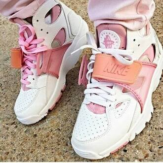 shoes nike high top sneakers urban urban pastel pink pink white pink and white shorts sneakers nike shoes huarache pink sneakers nike sneakers nike air huaraches