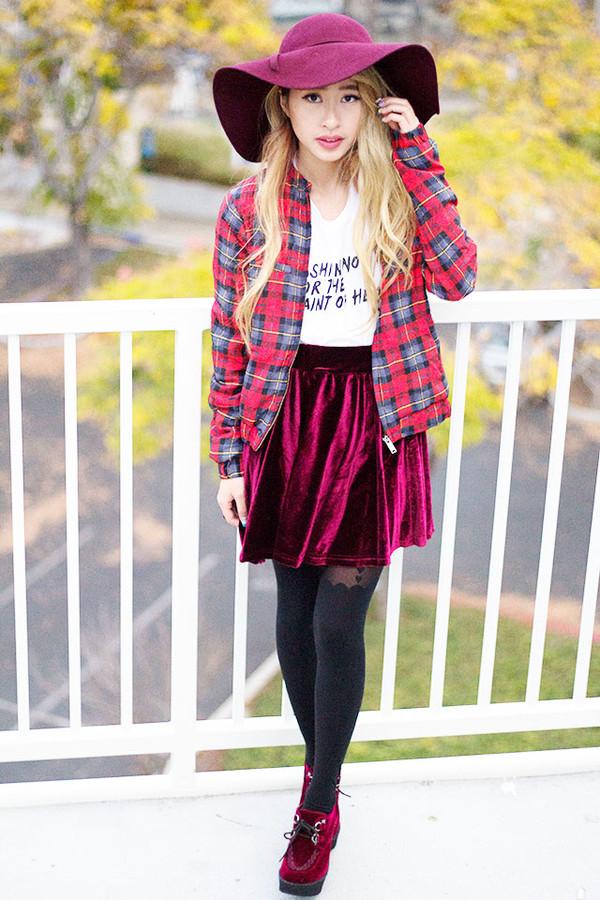 style2bones shirt skirt jacket shoes