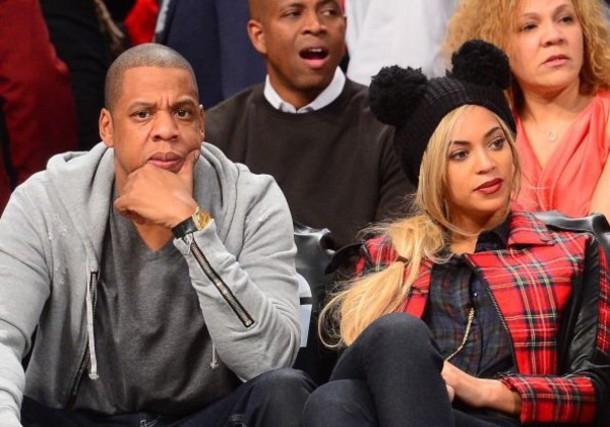 jacket beyonce Jay Z beyonce and jay z pom pom beanie