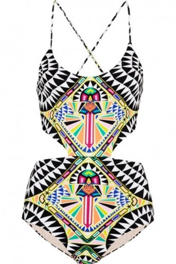swimwear aztec