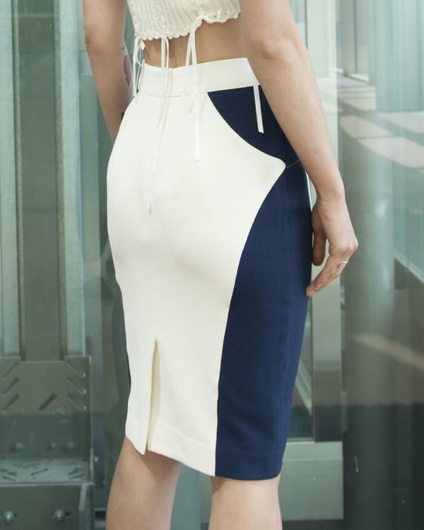 skirt pencil skirt navy style celebrity style london