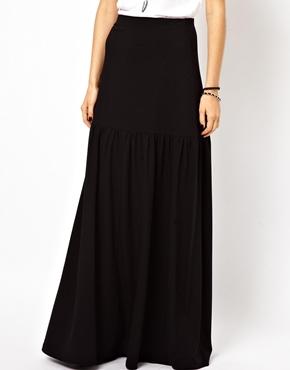 ASOS | ASOS Maxi Skirt With Dropped Waist at ASOS