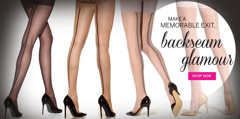 Pantyhose, Shapewear, Plus Size, Tights, Toeless Hosiery, Intimates | Silkies.com