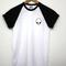 Alien logo black baseball t shirt