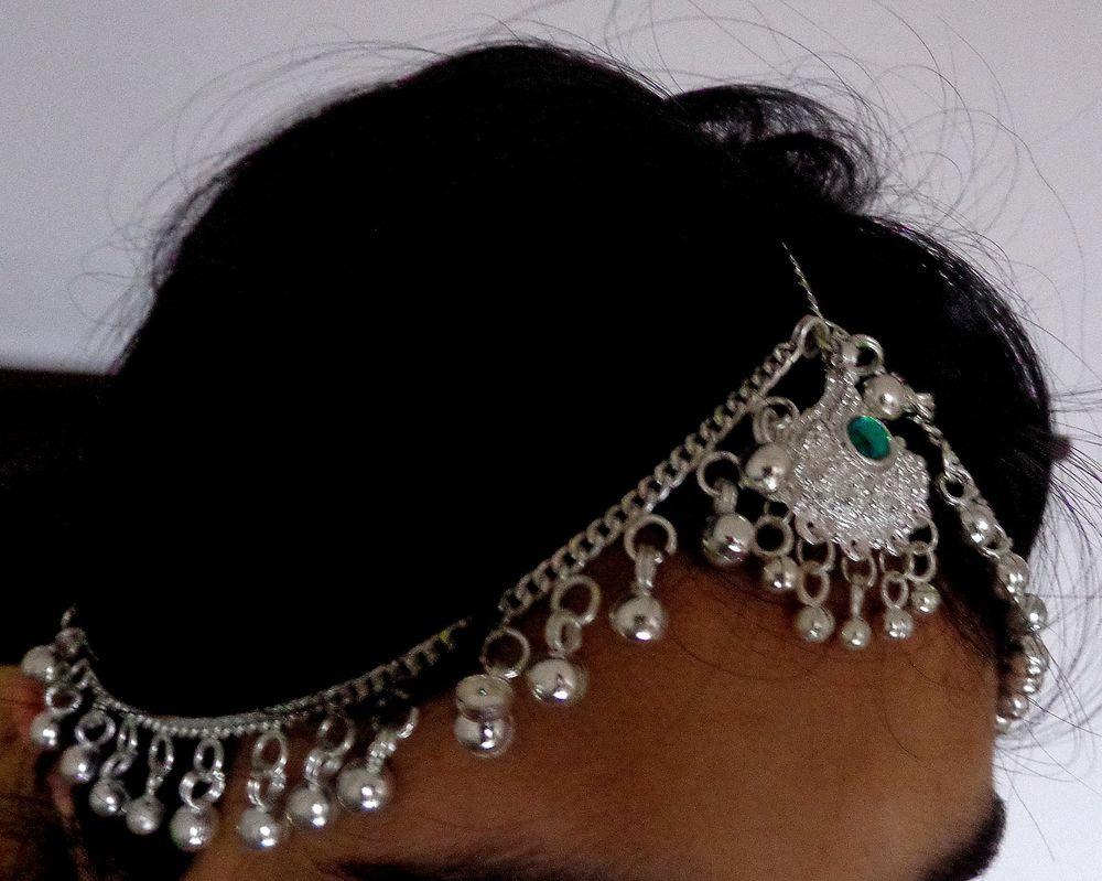 Banjara Tikka Head Piece Anklet Bracelet Matha Patti Lot Indian Hair Jewelry ATS | eBay