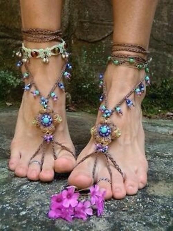 shoes boho sandals tribal pattern bohemian hippie