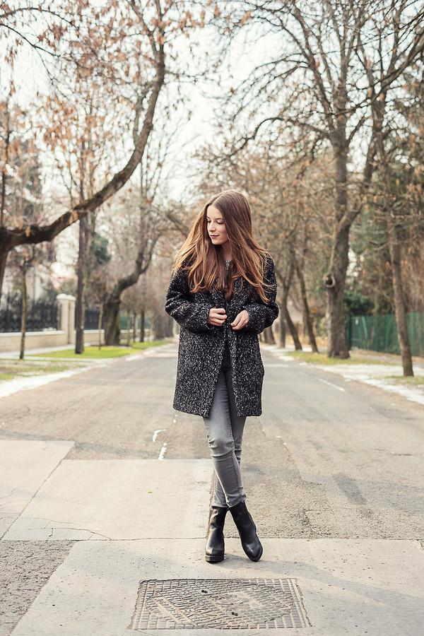 iemmafashion coat jeans blouse jacket shoes jewels