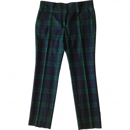Flannel pants MCQ Blue size 44 IT in Cotton All seasons - 704378